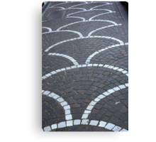 Pavement Patterns Canvas Print