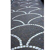Pavement Patterns Photographic Print