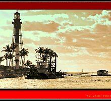 Hillsboro Lighthouse by Ali Zaidi