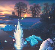 """Winter Night Will O' the Wisps"" by James McCarthy"