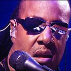 Stevie Wonder At Glastonbury by Jazzdenski