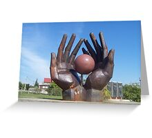 Workers Movement Memorial - Memento Park, Budapest Greeting Card