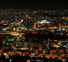 Damascus at night. by tmyusof