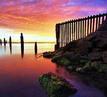 Firey Skies by David James