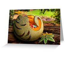 Exotic Melons 2  Greeting Card