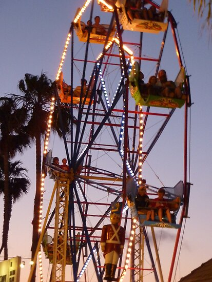 Wheel of Illumination- Newport Beach, CA by Alima  Ravenscroft