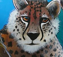 Cheetah - 'Jungle Animals' by Selinah Bull