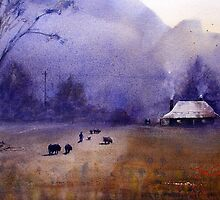 Going Home, Glen Davis, NSW by Joe Cartwright