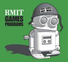 Make Games Not War: RMIT Games Programs by JBDesign