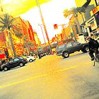 pixel-y hollywood intersection by shannonybaloney