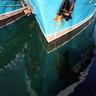 Fishing Boat Reflections by Stephen Horton