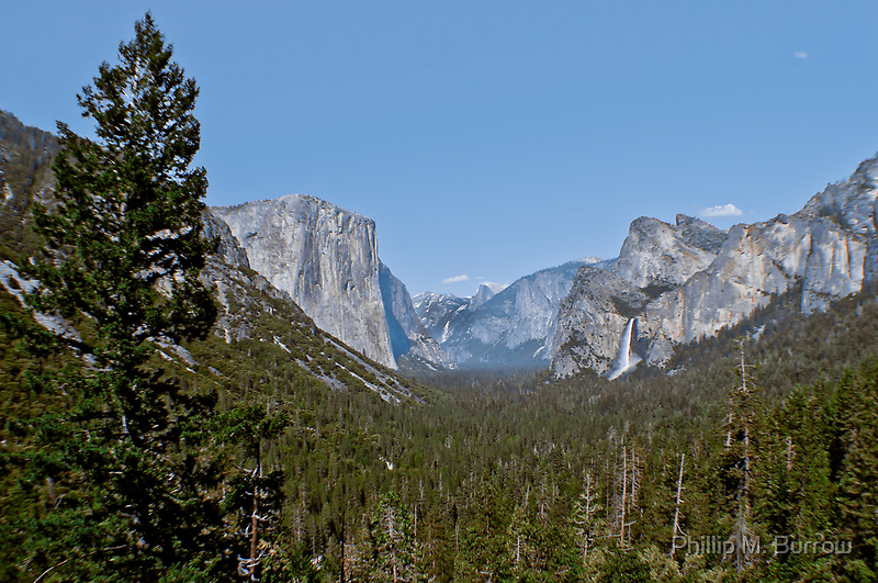Tunnel View by Phillip M. Burrow