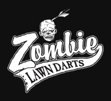 Zombie Lawn Darts July Edition by ZugArt