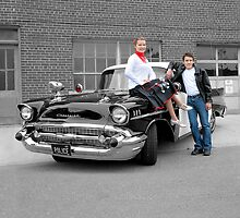 '57 Bel Air Police Cruiser - People Highlight by Mark Bolen