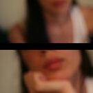 Self Portrait II - Listening by Rebecca Tun