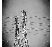 We dream of wires... Photographic Print