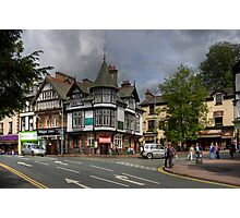 A corner in Bowness Photographic Print