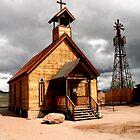 Goldfield Church by Katherine Haluska