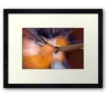 Power of Music Framed Print