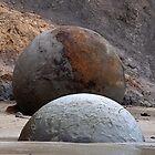 Moeraki Boulders by Odille Esmonde-Morgan
