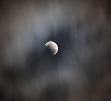 Partial Lunar Eclipse 26 June 2010 by Odille Esmonde-Morgan
