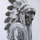 Old Cheyenne by Howard Searchfield