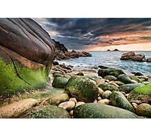 Cornwall - Porth Nanven Photographic Print