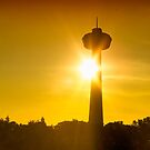 Skylon Sunset by JCBimages