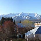 Fernie Alpine Resort from town, BC, Canada by slipdavies