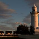 Light on the Light House by Alfredo Estrella