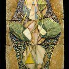 Lotus I: sacred geometry by Mona Shiber