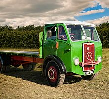1960 Atkinson Flatbed by David J Knight
