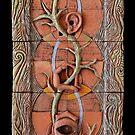 Mandalas: Sacred Ceramic Circles Art by Mona Shiber by Mona Shiber