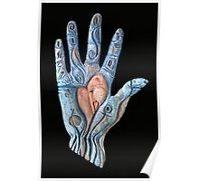 Hand Heart Poster