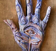 Hand Eye by Mona Shiber
