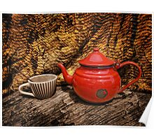 Still Life with Red Teapot Poster