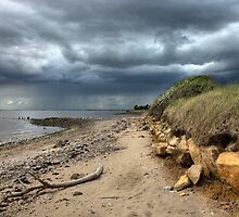 Storm clouds over the Humber, UK by Dave McAleavy