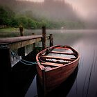 Loch Ard...  muggy morning... by David Mould