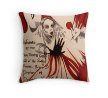 MacBeth ( Theatre Poster ) Throw Pillow