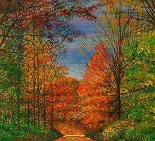 Autumn Leaves by Terry Huey