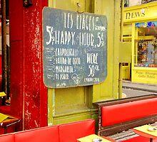 Paris - Happy Hour  by Jean-Luc Rollier