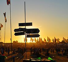 Lost at the Glastonbury Festival by Steve Briscoe