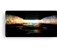 Toxic Water Canvas Print