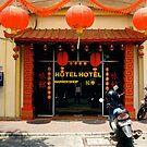 Hotel Hotel Barbershop, Jakarta, Indonesia by Ashlee Betteridge