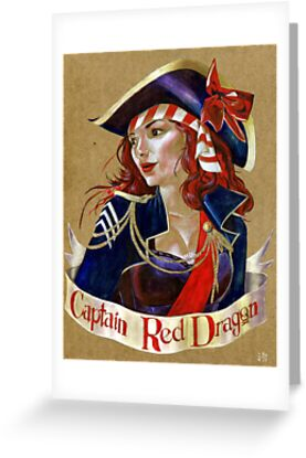 Captain Red Dragon by Alex e Clark