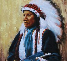 Chief Black Bear by Howard Searchfield