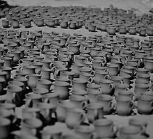 Pottery under the sun by ploux