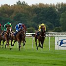 Doncaster Races by Ray Clarke