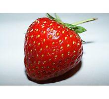 Juicy Strawberry Photographic Print