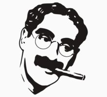 Groucho Marx by mobii